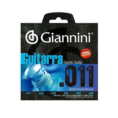 Encordoamento Giannini Guitarra GEEGST11 0.11
