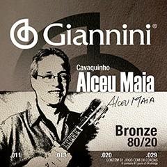 Encordoamento Giannini Violão Séria Alceu Maia Tensão Pesada