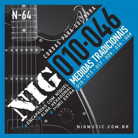 Encordoamento NIG Guitarra N-64 0.10