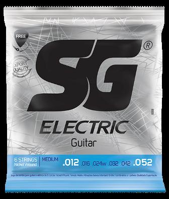 Encordoamento SG Guitarra 0.12