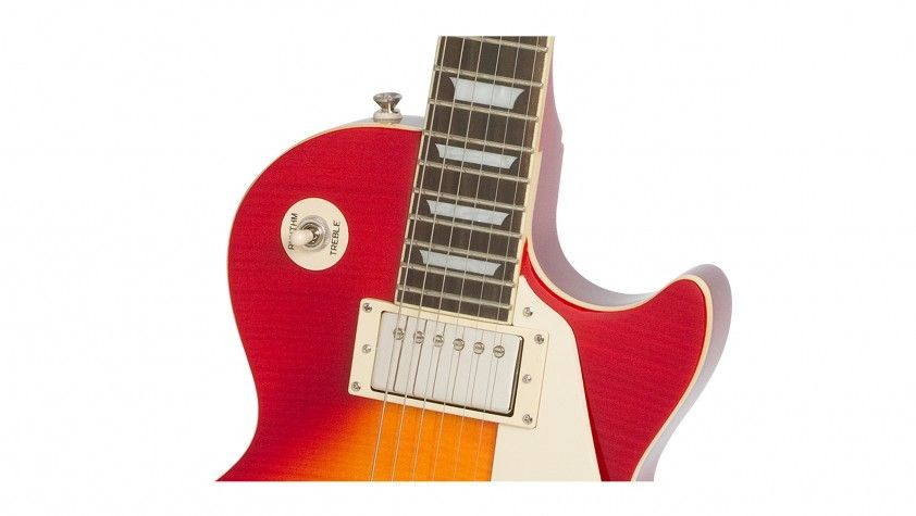 Guitarra Epiphone Les Paul Standard Top Plus Pro Heritage Cherry Sunburst