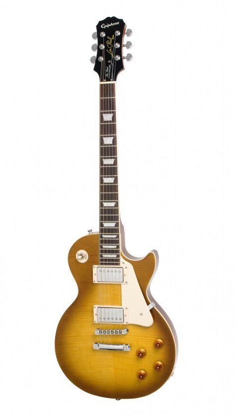 Guitarra Epiphone Les Paul Standard Top Plus Pro Honey Burst