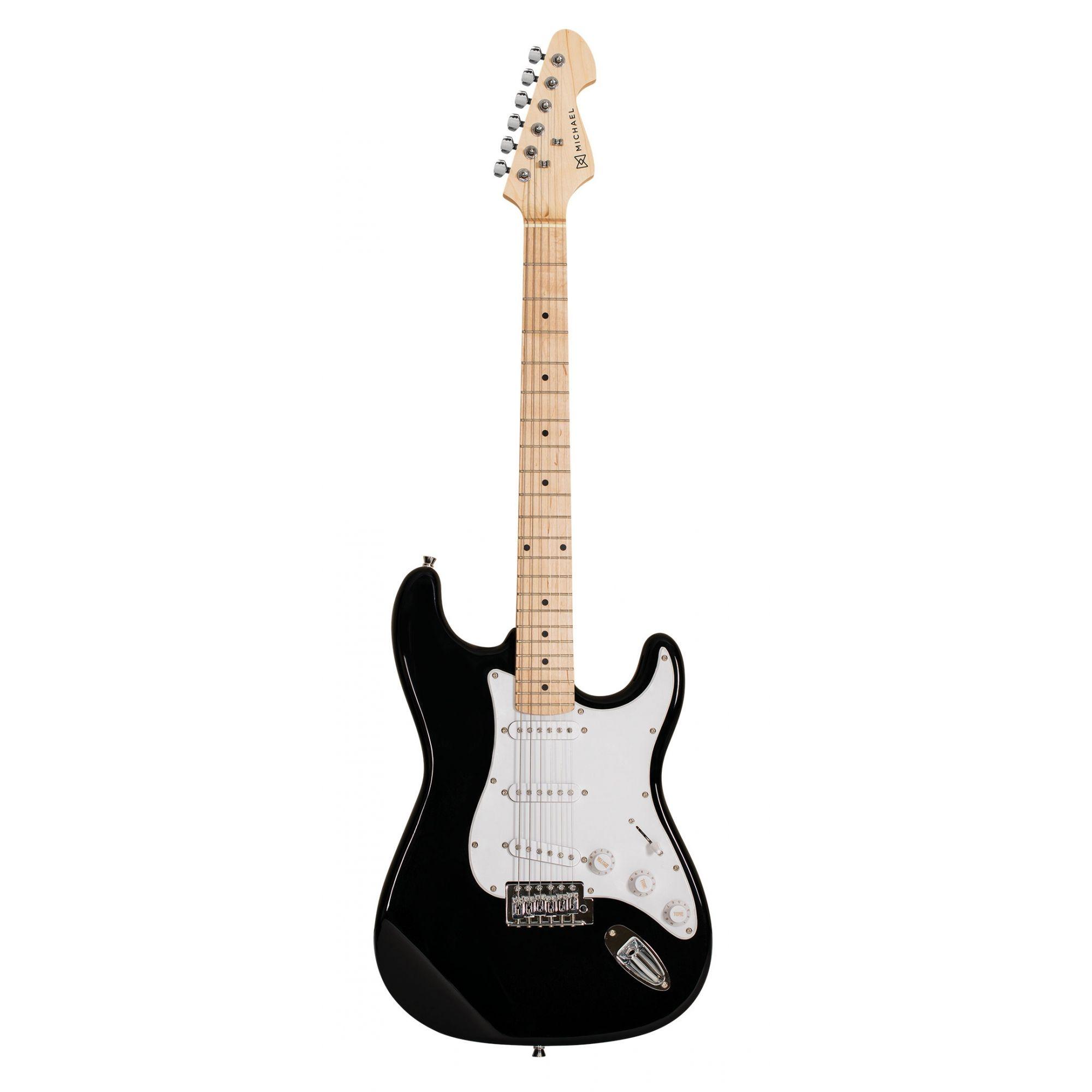 Guitarra Michael Stratocaster Standard GM217 Preta