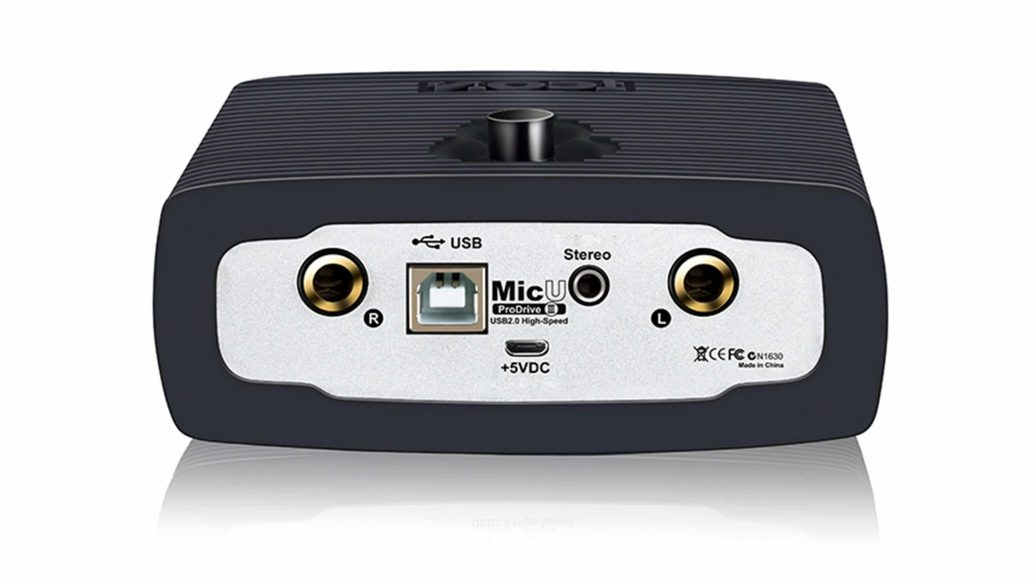 Interface de Áudio ICON MicU Live Pro Drive 3 USB 1 Canal