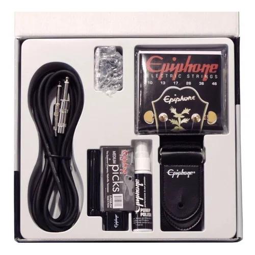 Kit Epiphone de Acessórios para Guitarra