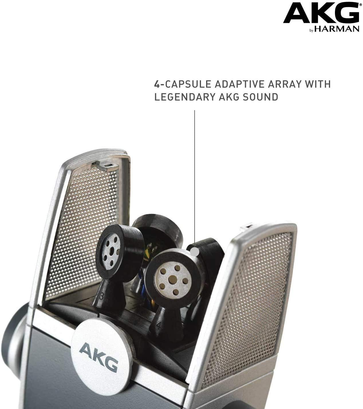 Microfone AKG Condensador Lyra C44