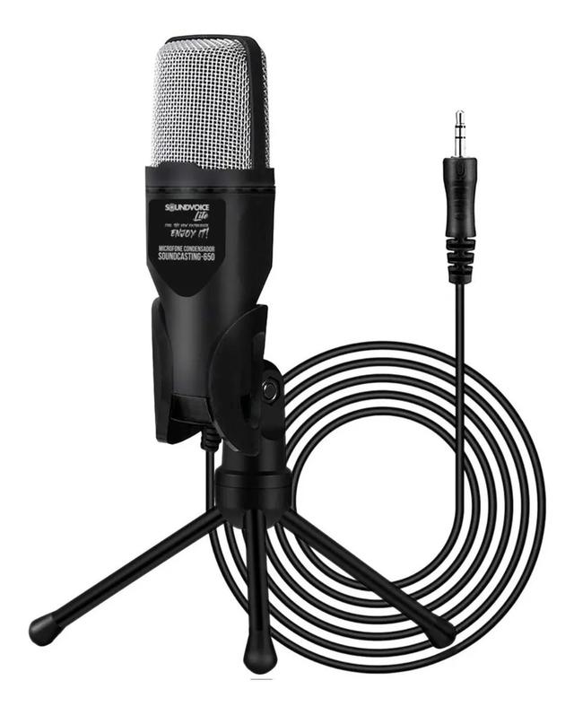 Microfone Condensador SoundCasting-650