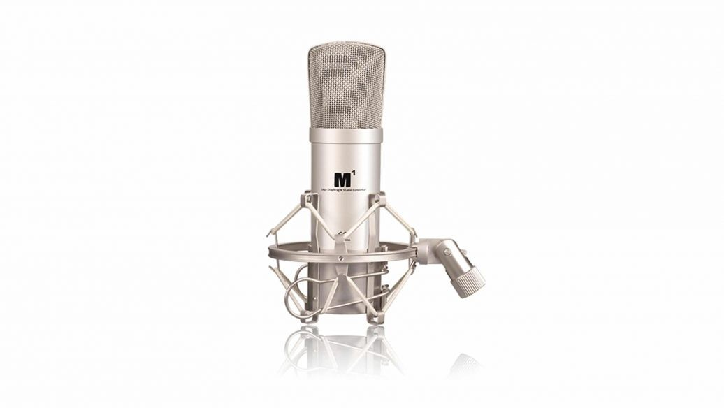 Microfone ICON M1 Condensador com Shock Mount e Case
