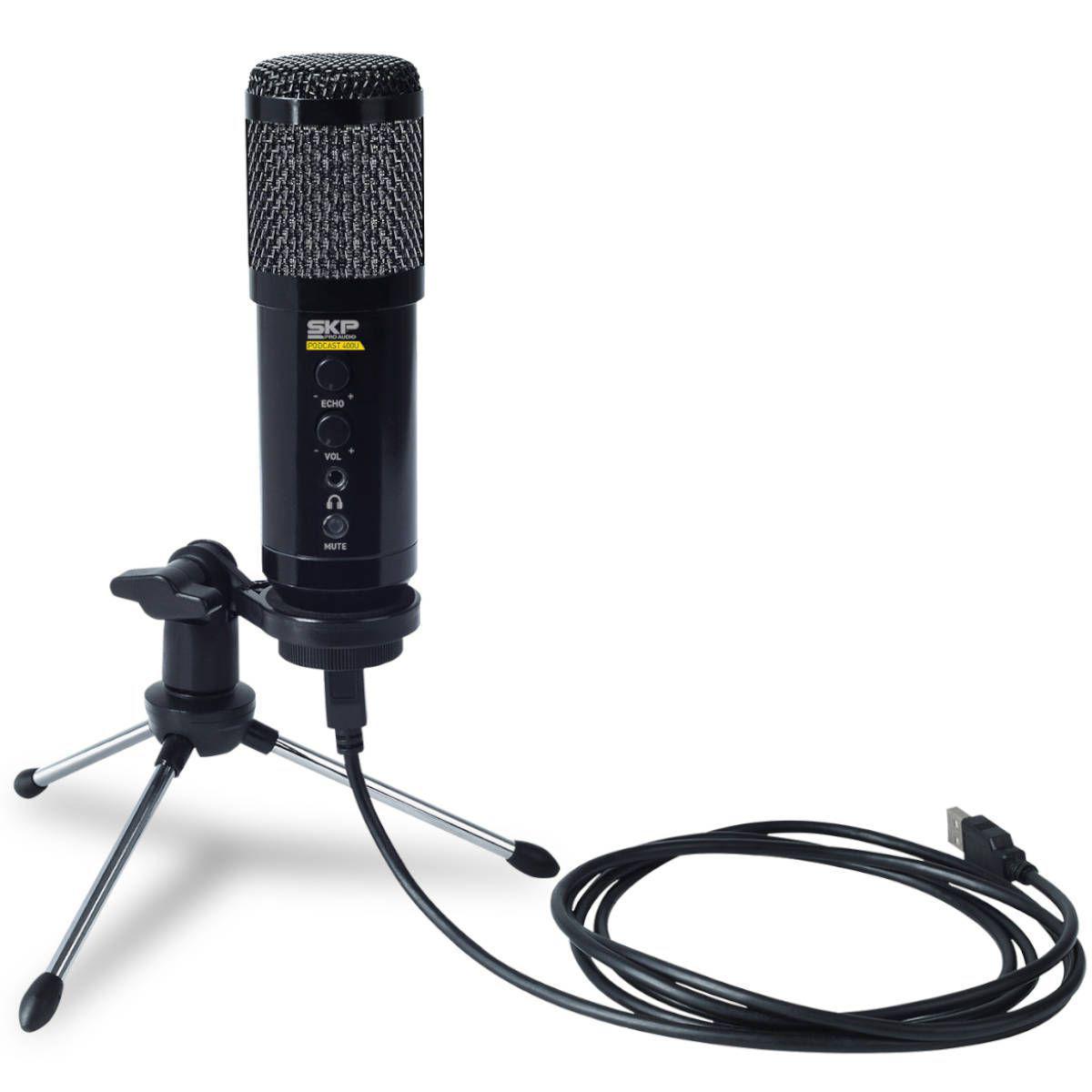 Microfone SKP Podcast 400U