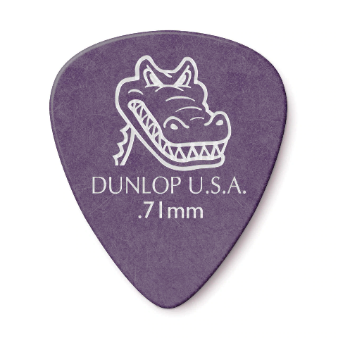Palhetas Jim Dunlop Gator Grip