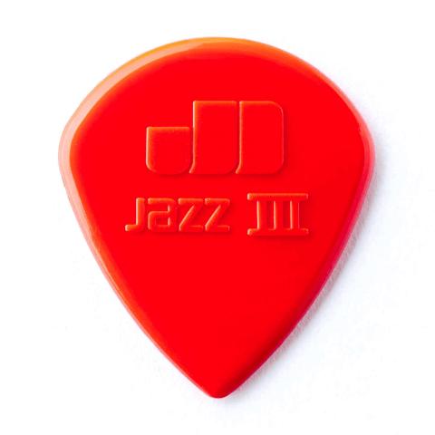 Palhetas Jim Dunlop Jazz III Nylon