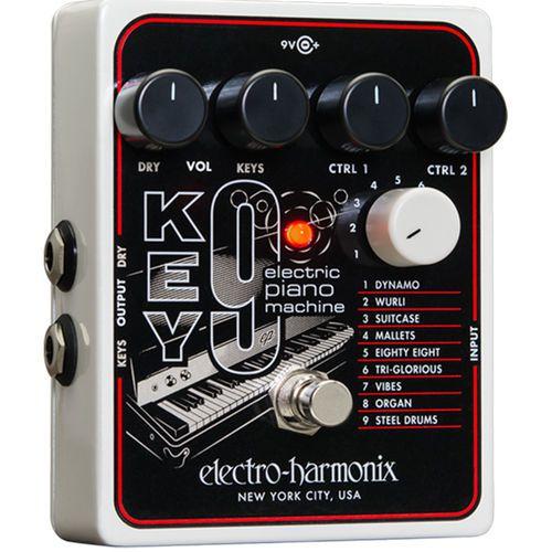 Pedal Electro Harmonix Key9 Electric Piano Machine