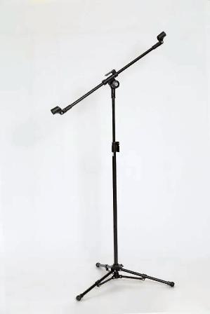 Pedestal Para 2 Microfones Vector PMV-02 SHT