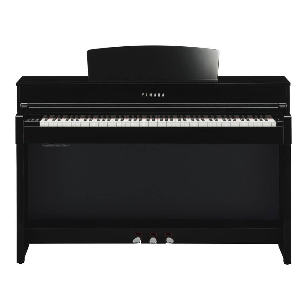 Piano Clavinova Yamaha CLP 545 PE Preta