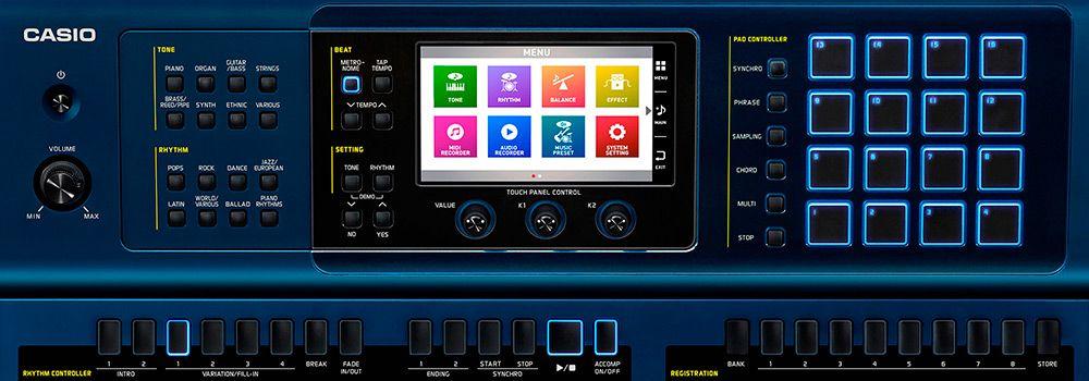 Teclado Arranjador Casio MZ-X500 61 Teclas