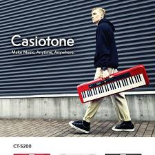 Teclado Casio CT-S200