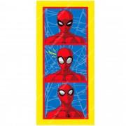 Toalha De Banho Infantil Felpuda Spider Man (Homem Aranha) 60X120cm LEPPER
