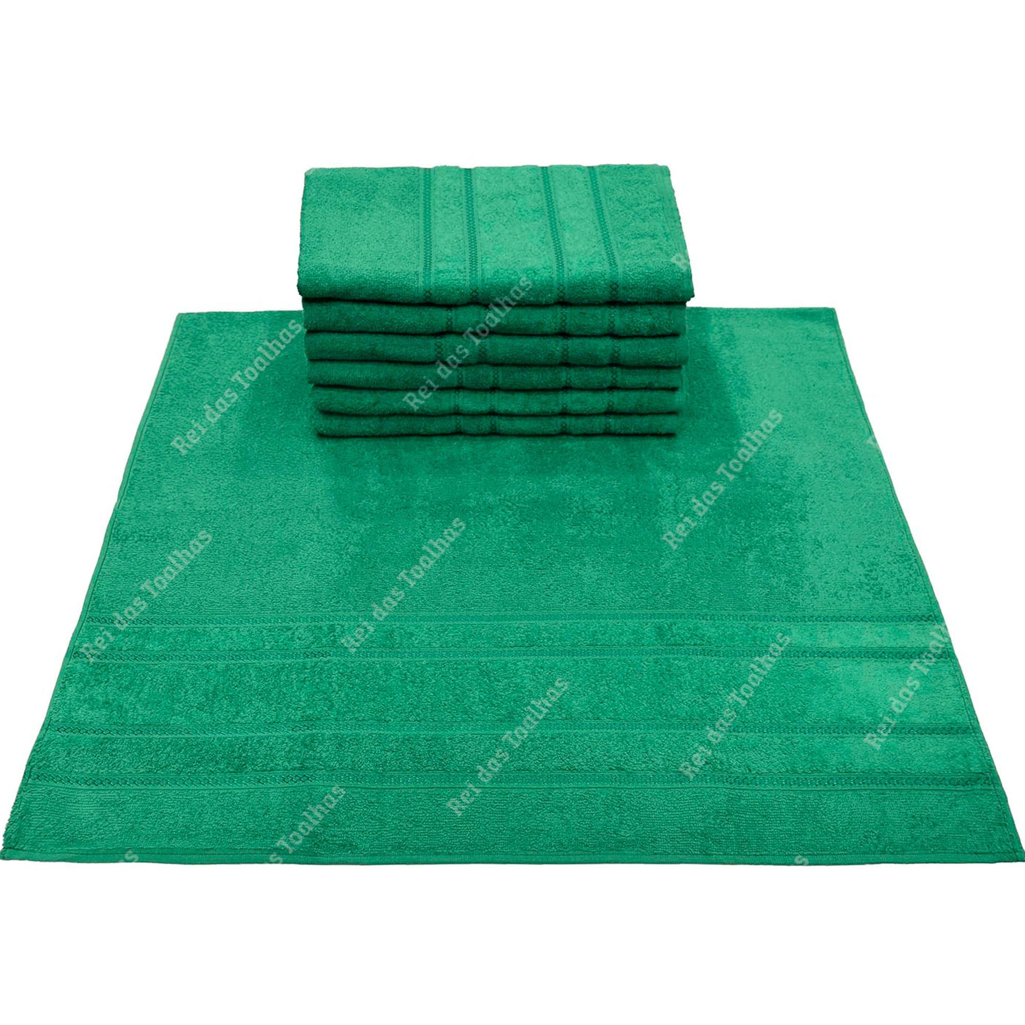 Kit Com 03 Toalhas De Banho Elegance 77X150cm ENGOTEX