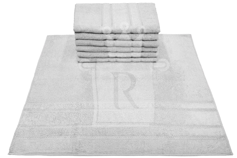 Kit Com 03 Toalhas De Banho Elegance Branca 77X150cm ENGOTEX