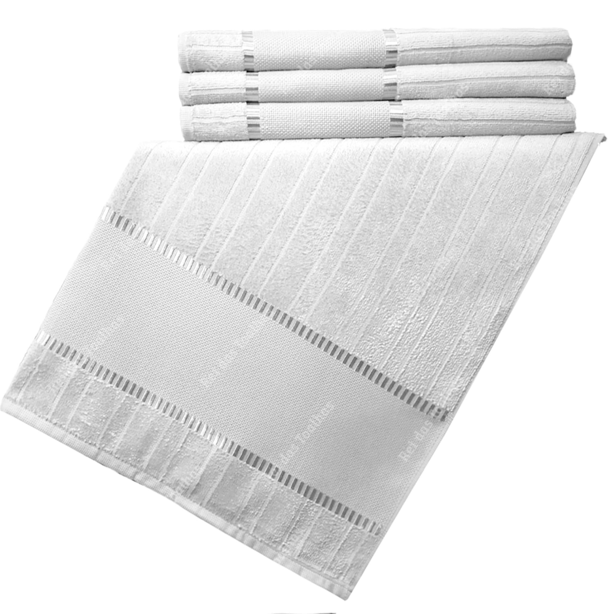 Kit Com 03 Toalhas De Banho Para Bordar Velour Bella 70X140cm DOHLER