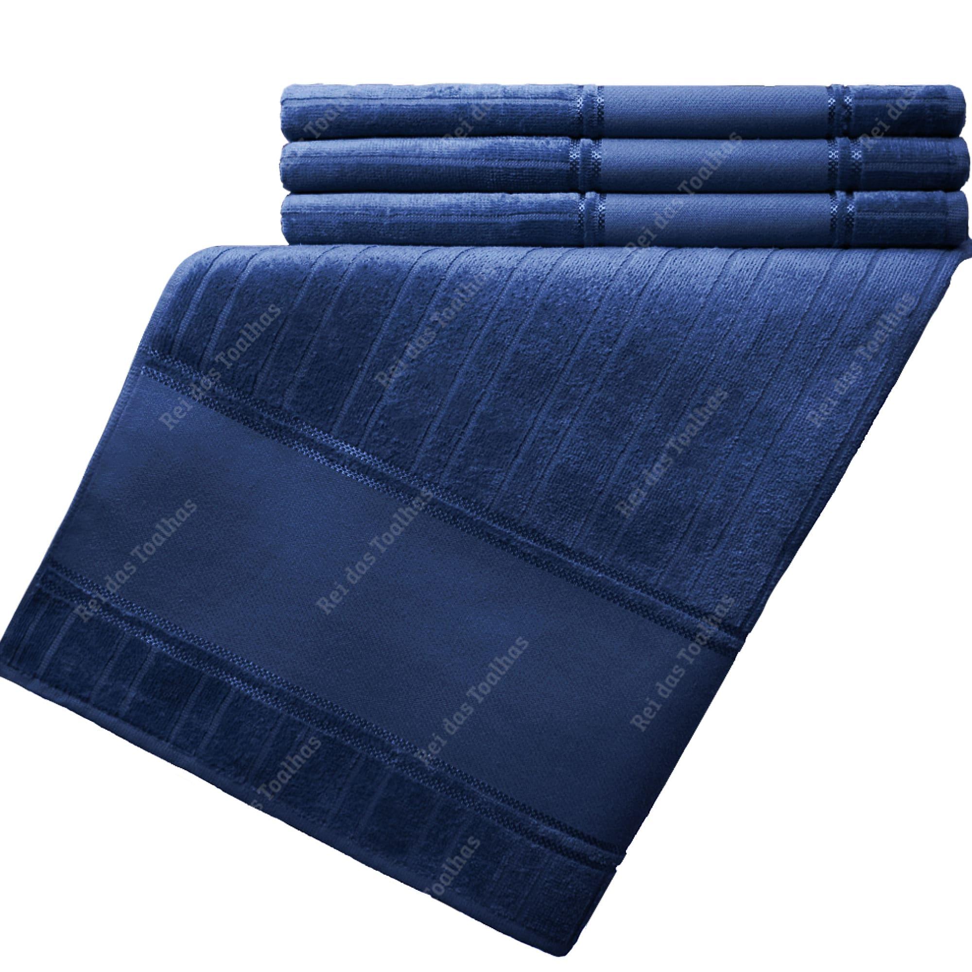 Kit Com 03 Toalhas De Banho Para Pintar Velour Artesanalle 70X140cm DOHLER