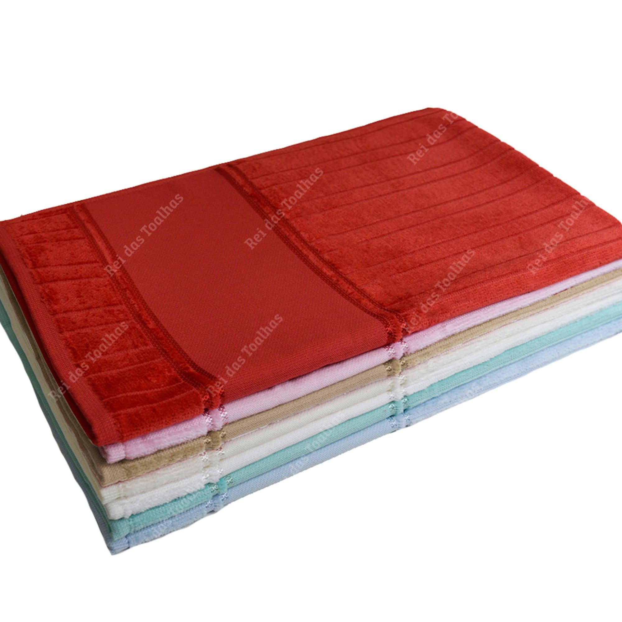 Kit Com 03 Toalhas De Rosto Para Pintar Velour Artesanalle 50X80cm DOHLER