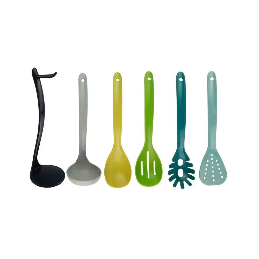 Kit Cozinha 05 Peças Com Suporte Plástico CLINK