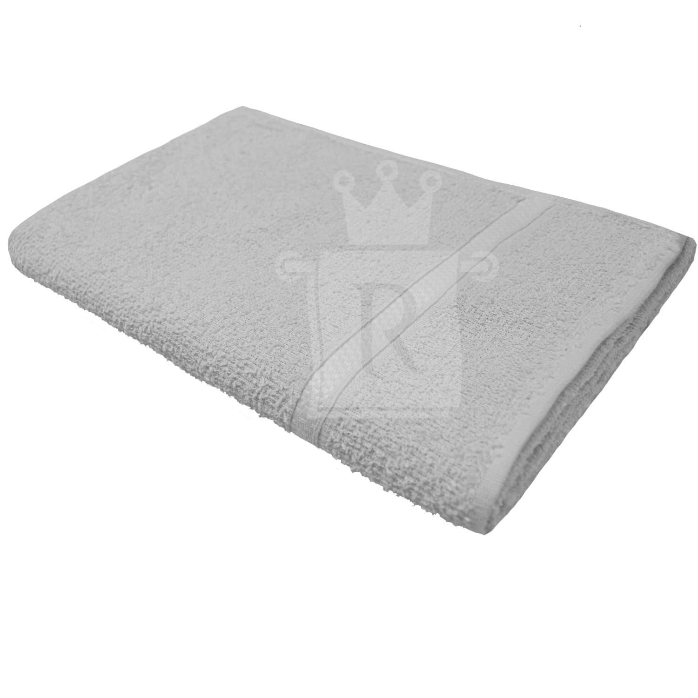 Kit Com 03 Toalhas De Banho Lisa Preta ou Branca 60X120cm ENGOTEX