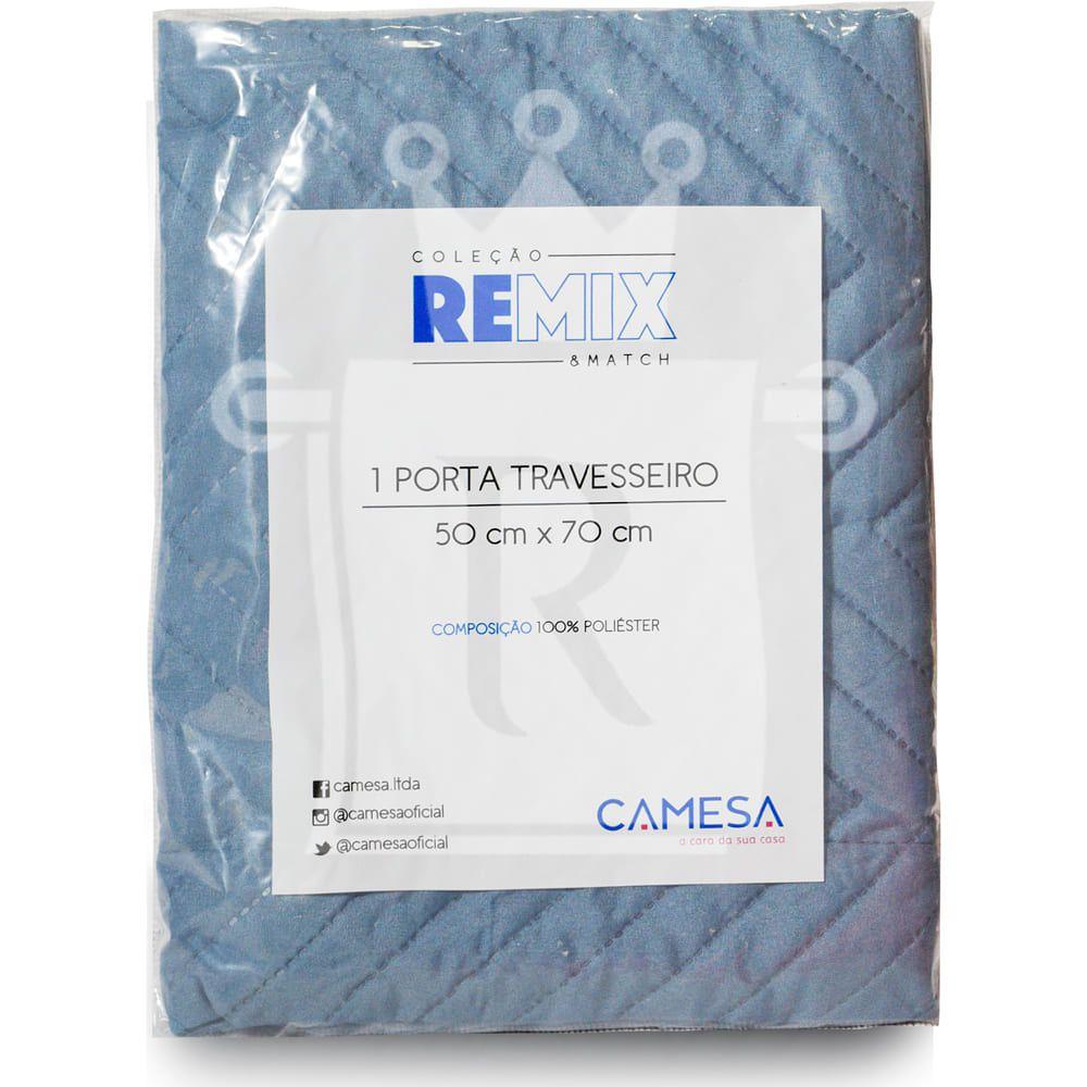 Porta Travesseiro Remix Avulso 70cmX50cm 100% Poliéster CAMESA