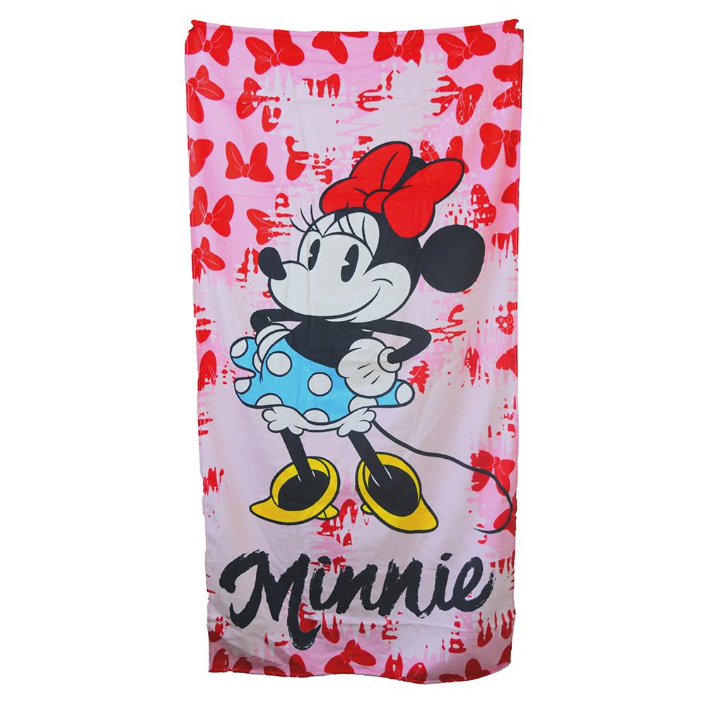 Toalha De Banho Velour Licenciado Minnie 76x152cm DOHLER