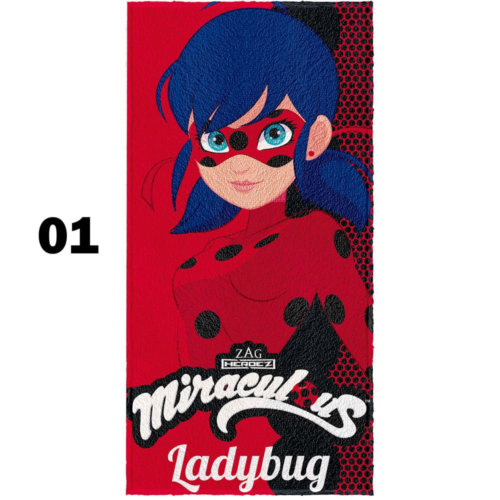 Toalha Felpuda Ladybug 60X120cm LEPPER