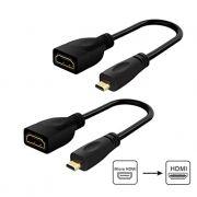 ADAPTADOR MICRO HDMI P/RASPBERRY PI 4