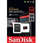 Cartão SANDISK Micro Sd 128gb Extreme A1 Speed 100mb/s