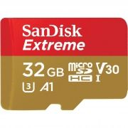 Cartão SANDISK Micro Sd 32gb Extreme A1 Speed 100mb/s