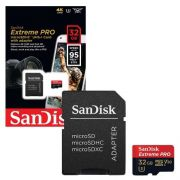 Cartão SANDISK Micro Sd 32gb Extreme Pro Speed 95mb/s