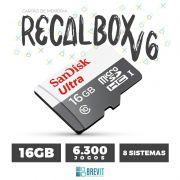 CARTÃO RECALBOX BREVIT V6 ``DRAGONBLAZE´´ 16GB P/ RASP B E B+
