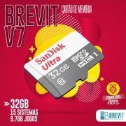 Cartão Brevit V7 32GB P/Rasp B e B+