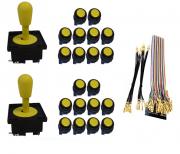 Kit com 2 Comandos Aegir 20 Botões Corpo Preto e Gpio