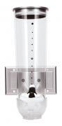 Dispenser Cereais Com Suporte Parede Fixador Mimo Style 1,5L