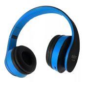 Fone Headset Hf-400bt Bluetooth Fm/cartao Sd Exbom Azul