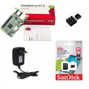 Kit Básico Raspberry Pi 3 - 128gb