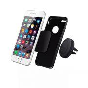 Suporte Veicular de Imã para Smartphone Celular/GPS/Iphone de Fixação no Ar Condicionado