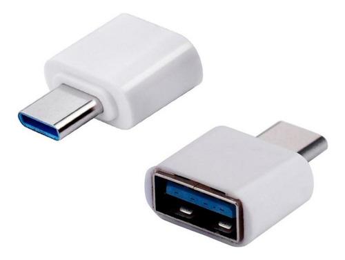 Adaptador Usb Femea X Tipo C Macho Otg p/ celulares e notebook / macbook