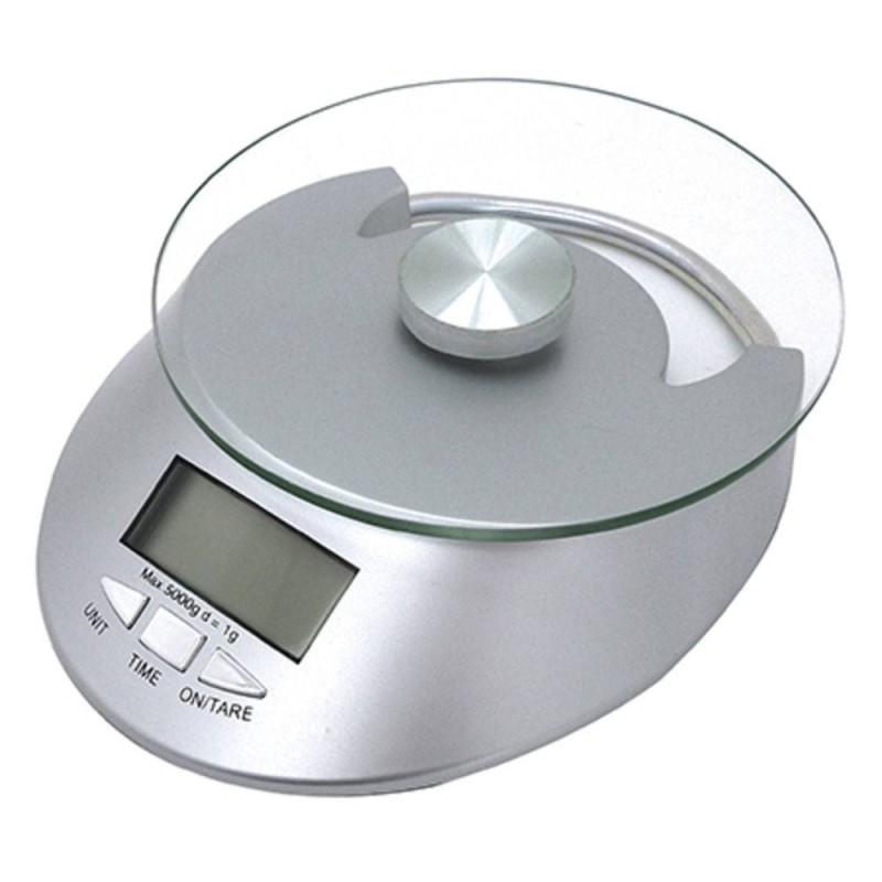 Balança digital de vidro para cozinha 5kg - Mimo Style