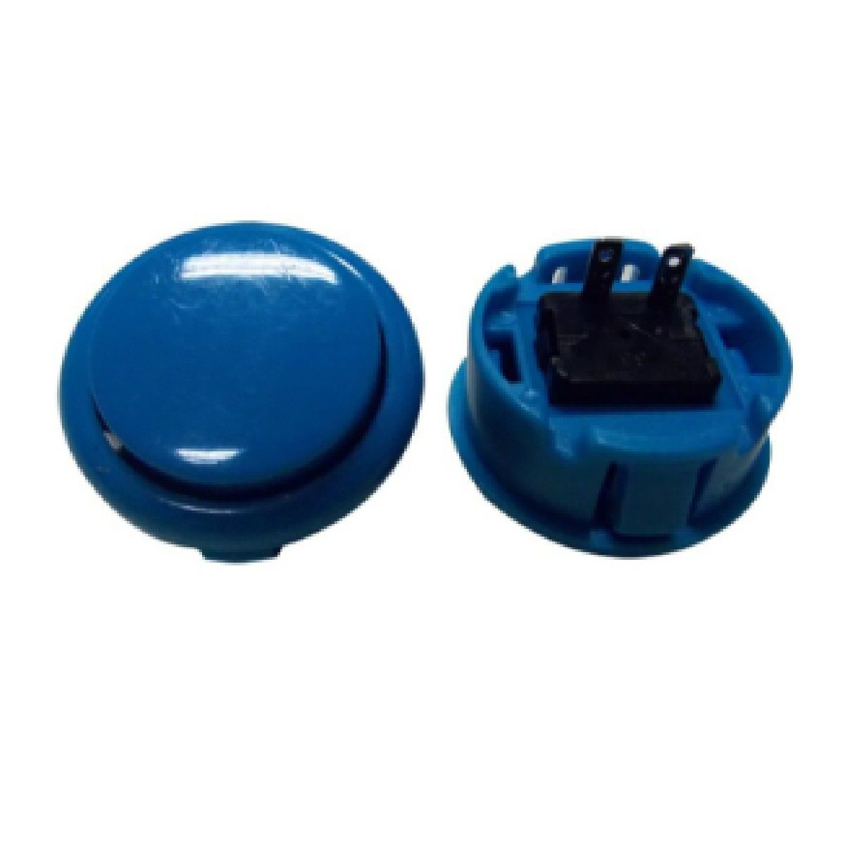 Botão Arcade Fliperama Alta Performance Tipo Sanwa (conector 2.8mm) Azul