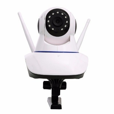 Câmera Ip Robô Ahd Alta Definição P2p Onvif Micro Sd 360 G