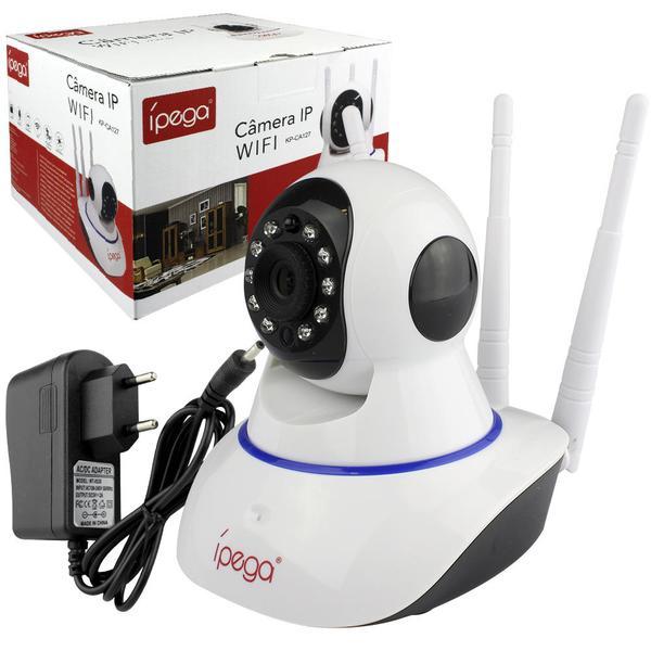 Câmera Ip Wireless Com Infravermelho 720P Suporte Para Andoid E Ios