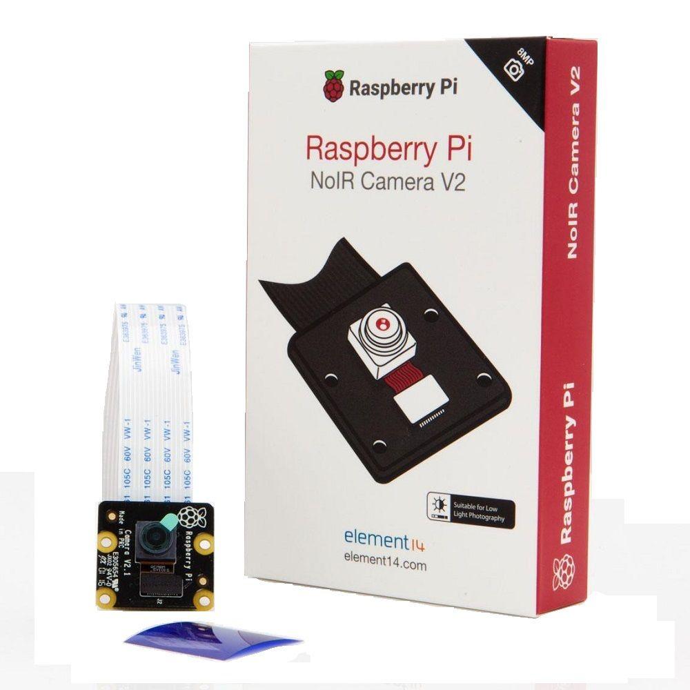 Câmera Noir Para Raspberry Pi 3 Pi3 V2 Noir 8mp