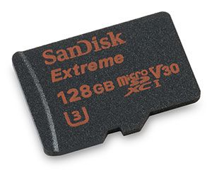 Cartão SANDISK Micro Sd 128gb Extreme Pro Speed 95mb/s