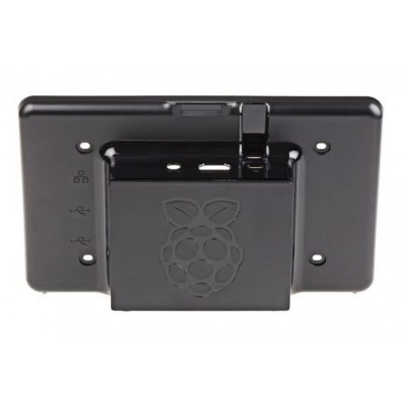 CASE PREMIUM PARA LCD 7 OFFICIAL TOUCH SCREEN PARA RASPBERRY PI 3